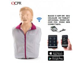 Little Anne QCPR Laerdal Manequim de Treinamento Real *Com Tecnologia Bluetooth