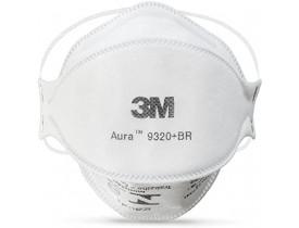 Respirador Descartável 3M™ Aura 9320+BR – Classificação PFF-2