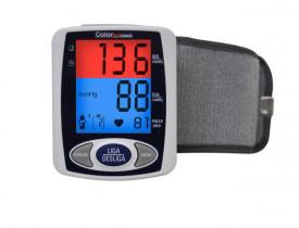Medidor de Pressão Arterial e Pulsação (Pulso) Color Check Incoterm