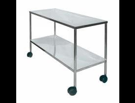 mesa auxiliar aço inox 1,10x45x80