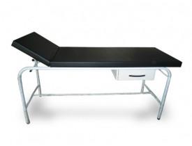 Maca Mesa de Exame Clínico Adulto com 01 Gaveta - Capacidade 150 kg - Leito 65 cm