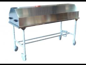 Mesa de Necropsia IML - Leito Em Inox c/ Tampo em Aluminio