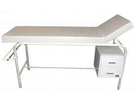 Maca Mesa para Exame Clínico ou Estética Leito Estofado 70cm com Gavetas