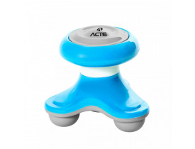 Mini Massageador Corporal - Acte Sports - Azul T150 -VR