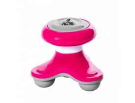 Mini Massageador Corporal - Acte Sports - Rosa - T150 -VR