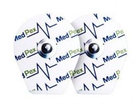 Eletrodo Descartável Infantil Para ECG Medpex MP32 - Pacote com 50 unidades
