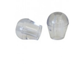 Oliva PCV Cristal sem Rosca para Estetetoscópio
