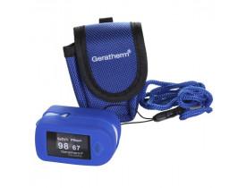 Oxímetro de Dedo Geratherm Oxy Control com Curva Plestimográfica