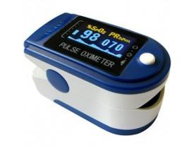 Oxímetro de Dedo Contec CMS-50D Tela OLED Colorida e Curva de Saturação