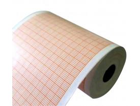 Papel para ECG GE MAC 500 - 90mmx30m - Pacote com 05 Rolos