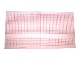 Papel para Cardiotocógrafo Bistos BT-300 130x120 C/ 200fls - Caixa com 10 Blocos