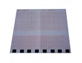 Papel para Cardiotocógrafo GE Corometrics 170 Series 152x90 - Bloco com 160 fls