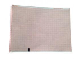 Papel para ECG Mortara Eli 150 Cx com 05 blocos com 200 folhas cada