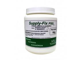 Pasta para Exame de PSG - Polissonografia Suplly-Fix Creme Adesivo e Condutivo - 1 Kg