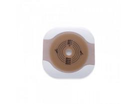 Placa Hollister Colostomia Base Adesiva Plana Recortável Sistema de 2 Peças 57mm