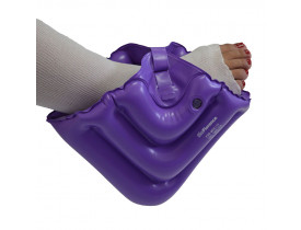 posicionador inflavel bioflorence de calcanhar e tornozelo