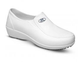 Calçado Feminino Profissional Lady Works de EVA Solado Antiderrapante BB95 Branco - Soft Works