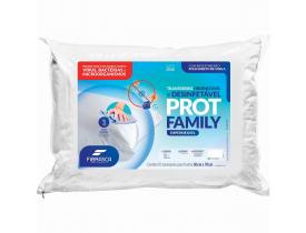 Travesseiro com Capa Impermeável Protege Family Fibrasca