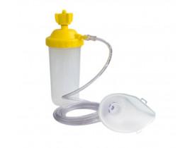 Umidificador Master 400 ml AR PP Com Extensor e Máscara - Protec