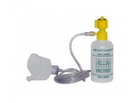 Umidificador Frasco 250 ml - AR - Com Extensor e Máscara Adulto - Protec