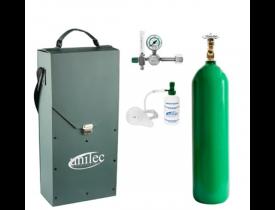 Unidade Portátil para Oxigenação - Cilindro 3 Litros - Bolsa de Nylon