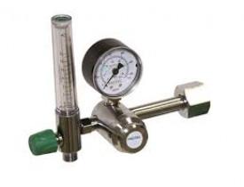 Válvula Redutora de Pressão para Oxigênio com Fluxômetro - Cabo Longo - Protec