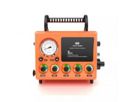 Ventilador Mecânico S21 para uso emergência, transporte, fisioterapia respiratória e Ressonância Nuclear Magnética.